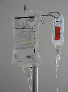 Intravenous fluids are required for mild cases of hypovolemia image