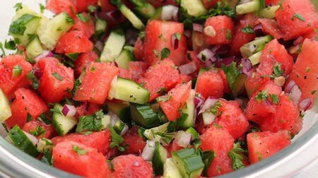 Sides Sample: Watermelon Salsa image