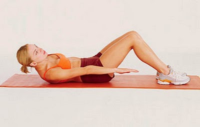 Side to Side Exercise Targeting the Oblique Abdominal Muscles image