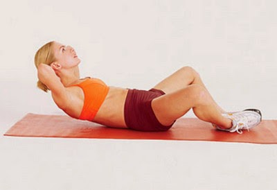 The Butterfly Crunch Targeting the Rectus Abdominis Muscles picture