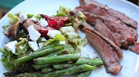 Vegetable Sample: Everything Grilled Salad with Tuscan-Style Steak photo