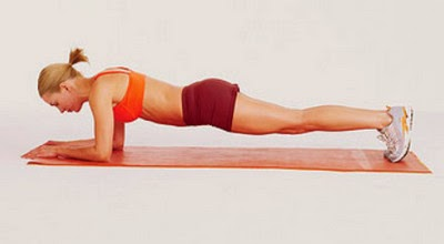 Front Plank Targeting the Transverse Abdominal Muscles picture