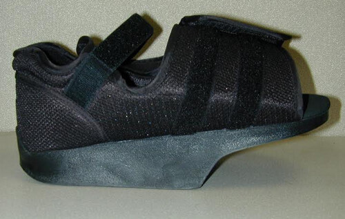 Boot for immobilization of turf toe image